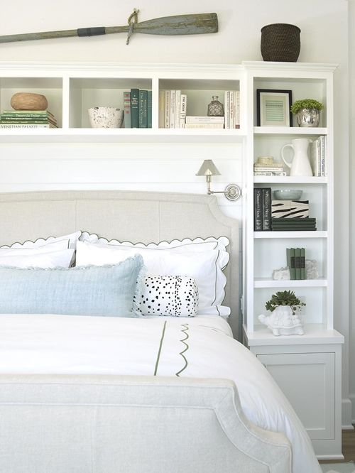 get this look using two ikea skinny bookcases and an ikea bridging