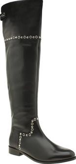 Schuh Black Yorba Womens Boots Let your boots do the talking this season as the Yorba