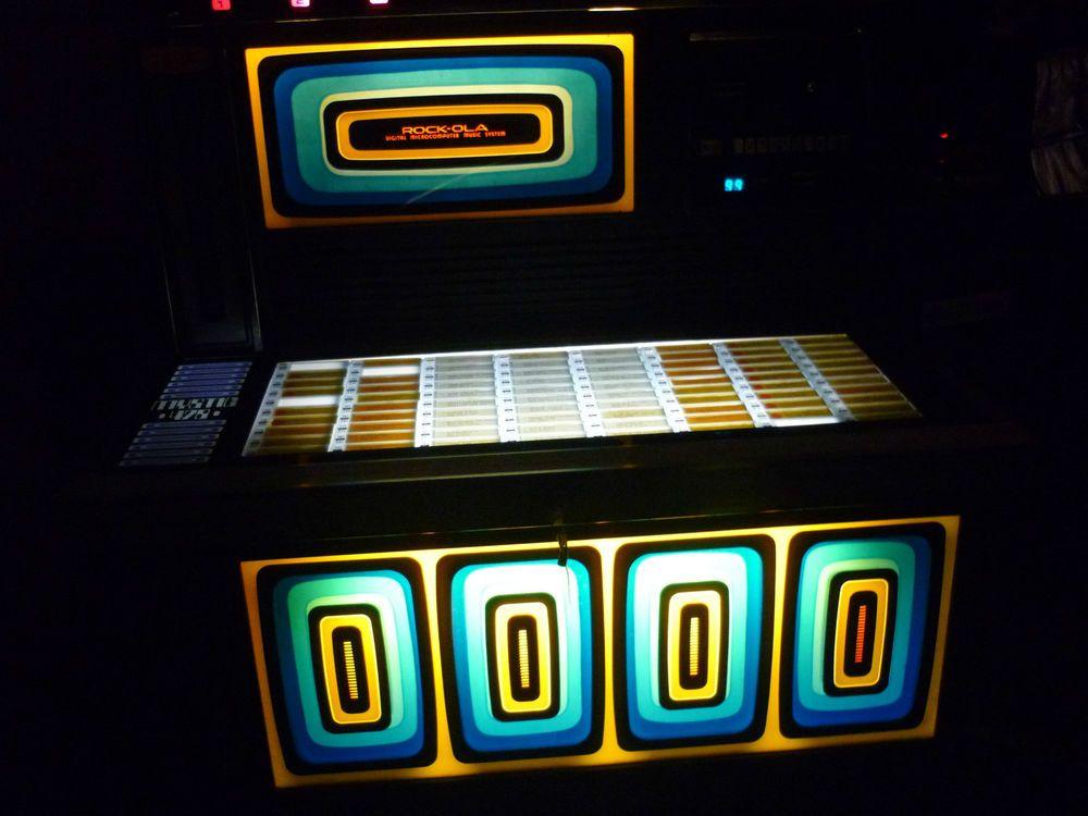 1978 Rockola Mystic 478 Jukebox Juke Boxes Jukebox