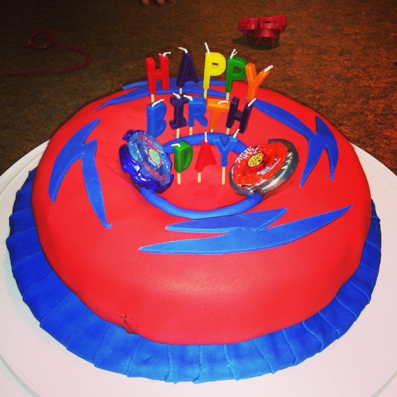 Beyblade Birthday Cake Yum