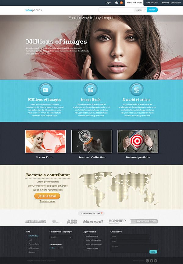 20 Best Free Photoshop Templates To Download Creative Beacon Free Website Templates Photoshop Templates Free Free Psd Template Website