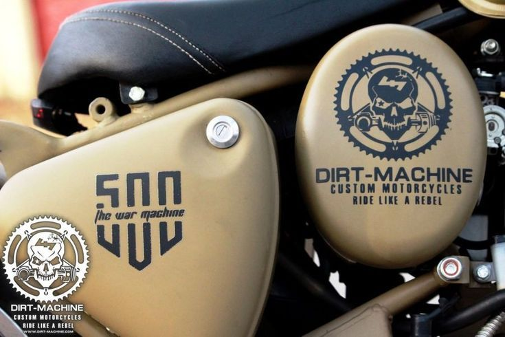 Photo of Royal Enfield Classic 500 Combat Edition von Dirt Machine Custom – Modified Moto…