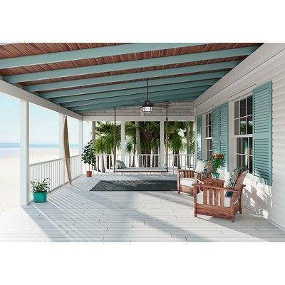 Best 54 Prestige Key Biscayne Weathered Zinc Ceiling Fan With 400 x 300