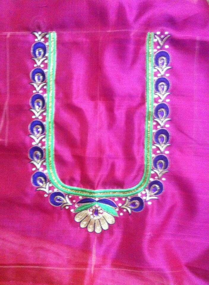 Pin By Saiarjun Kokkonda On Aari Designs Blouse Designs Blouse