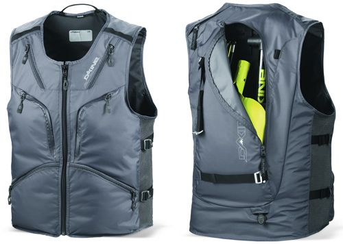 Dakine Debuts The BC Utility Vest With Built-In Backpack | 50 000 ...