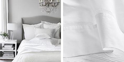 Bed Linen | Linen, Silk U0026 Egyptian Cotton | The White Company