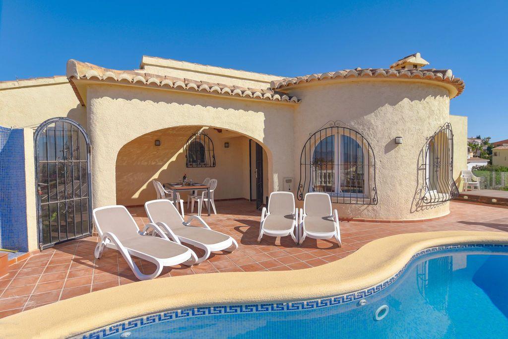Villa De Vacances A Benitachell Avec Piscine Privee Location