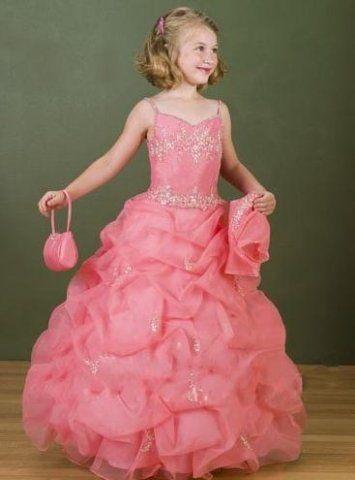 Wedding Dresses Cupids / Flower Girl Collection Style #
