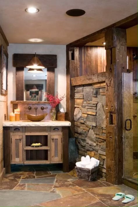 Photo of Rustic Bathroom Decor Ideas