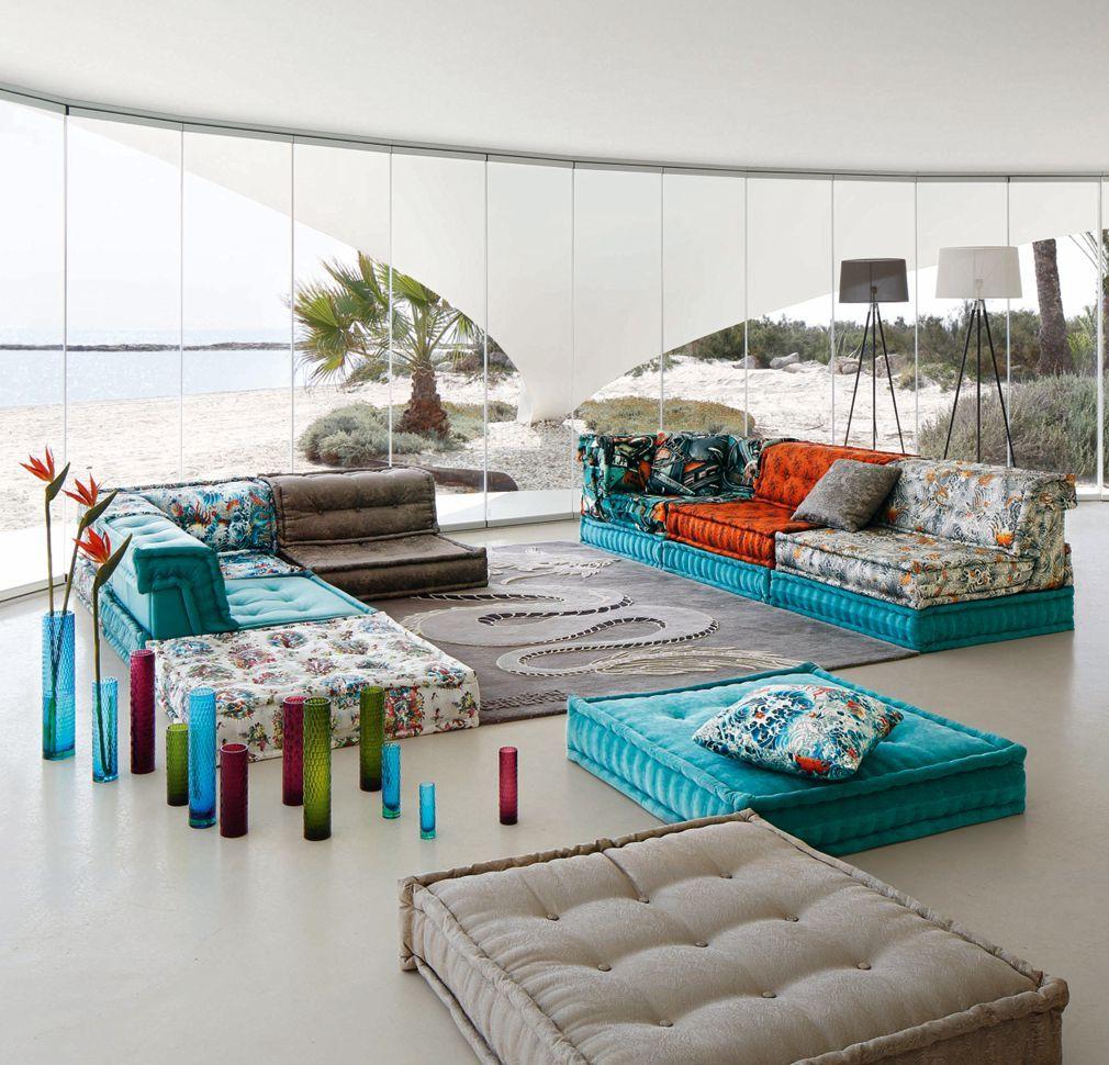 Composizione In Pelle E Tessuto Jpg Mah Jong Roche Bobois Home  # Muebles Roche Bobois