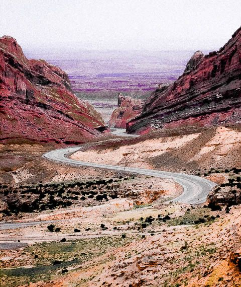 Mountain Scenery Desert Landscape Desert Print Red And Brown Mountain Print Desert Photography Long Road Home By Pa Desert Photography Landscape Mountain Print