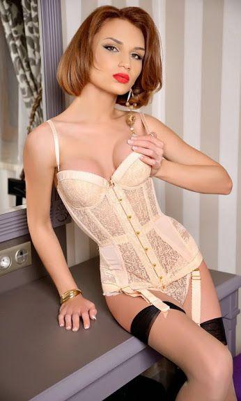 Shemale plastic corset