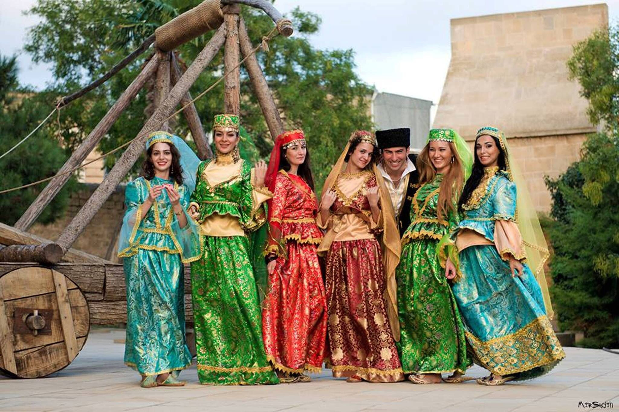 National Azerbaijani Clothes Azerbaijan Fairytale Dress Azerbaijani Clothing