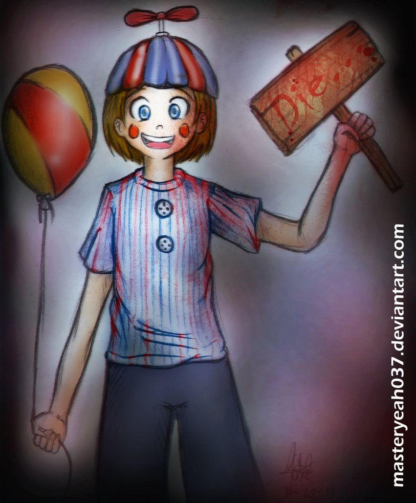balloon boy five nights at freddys 2 by masteryeah037