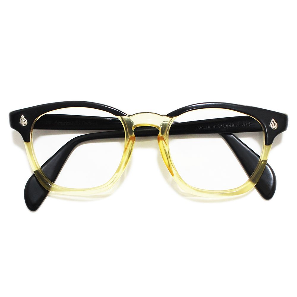 American optical vintage safety glasses two tone