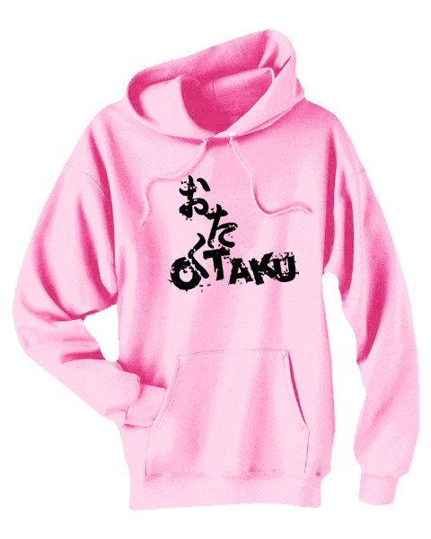 Otaku Anime Hoodie otaku pullover kawaii anime by gesshokudesigns