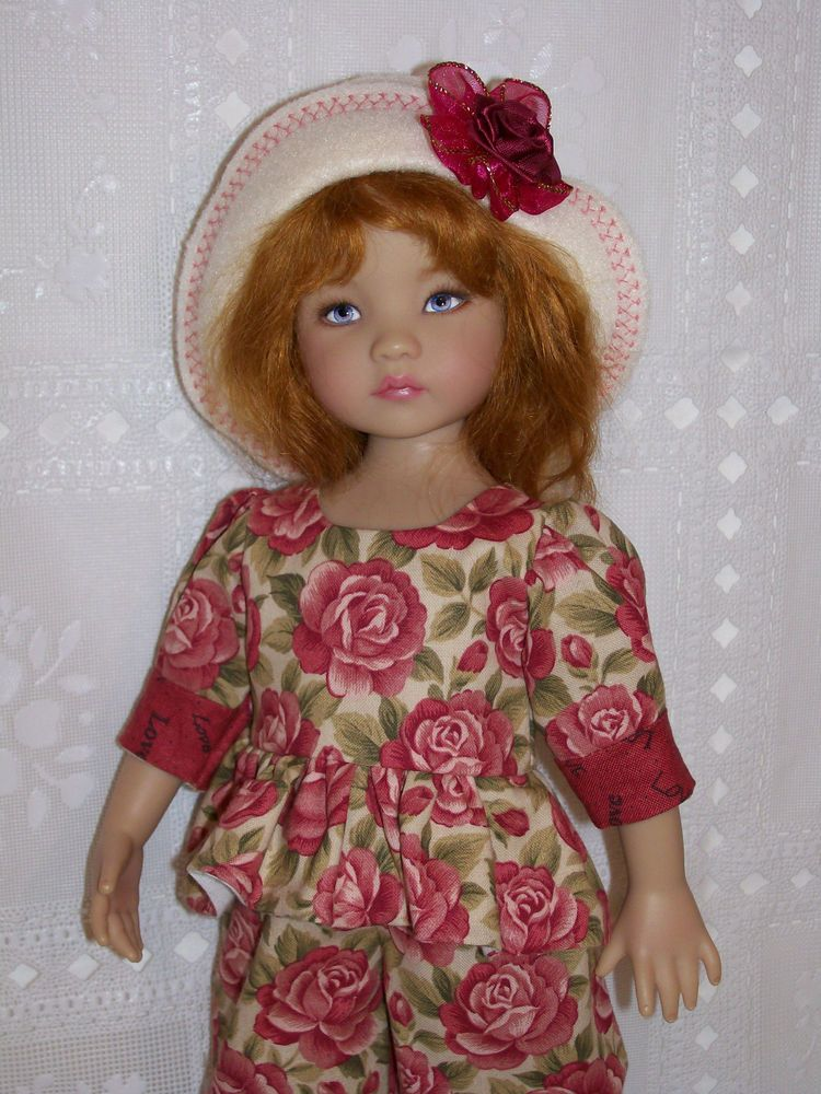 """"""" LOVE AND ROSES """" For Effner 13"""" Little Darling Doll"""