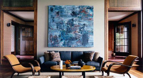 Wanzenberg-designed living room