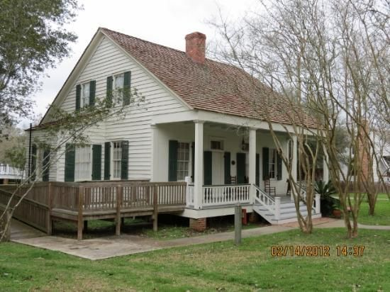 Vermilionville one of the acadian homes another time for French creole house plans