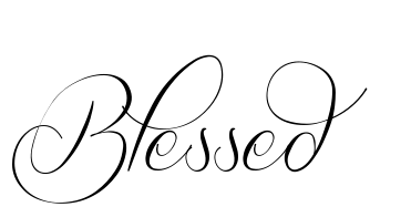 Simple Tatuagen Delicada Tipos De Letra Para Tatuagem Tatuagem Blessed