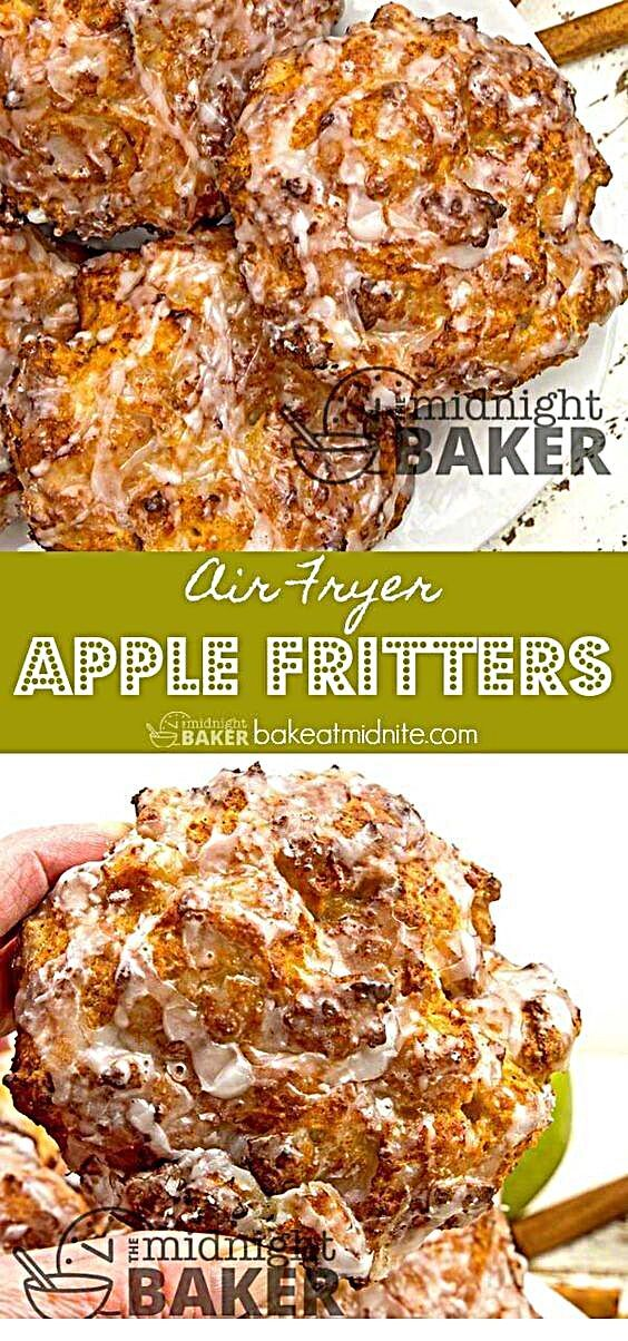 - You should learn this Air Fryer Apple Fritters . B'coz it's super Appetizing. ~ JUST CLICK PIN TO...