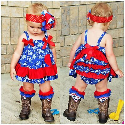 e4e0cf51928 Girls 4th of July Outfit