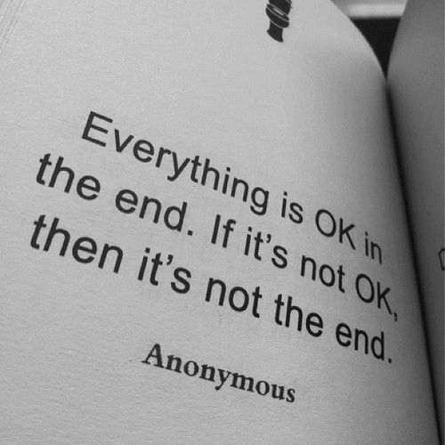 This Isn T The End It S Just A Bump In A Road I Can T See The End Of It Could Be A Dead End It Could Turn Rockier A Words Quotes Quotable