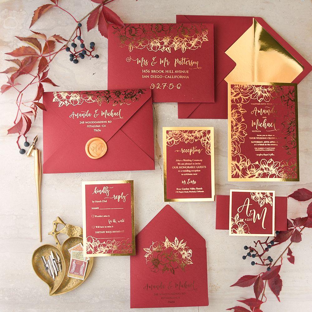 WEDDING INVITATIONS glitter | All Creations Adorable | Pinterest ...