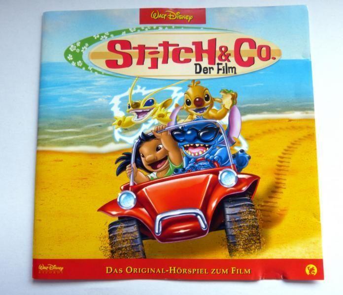 """Hörspiel - CD , """" Stitch & CO - Der Film """", von Walt Disney"""