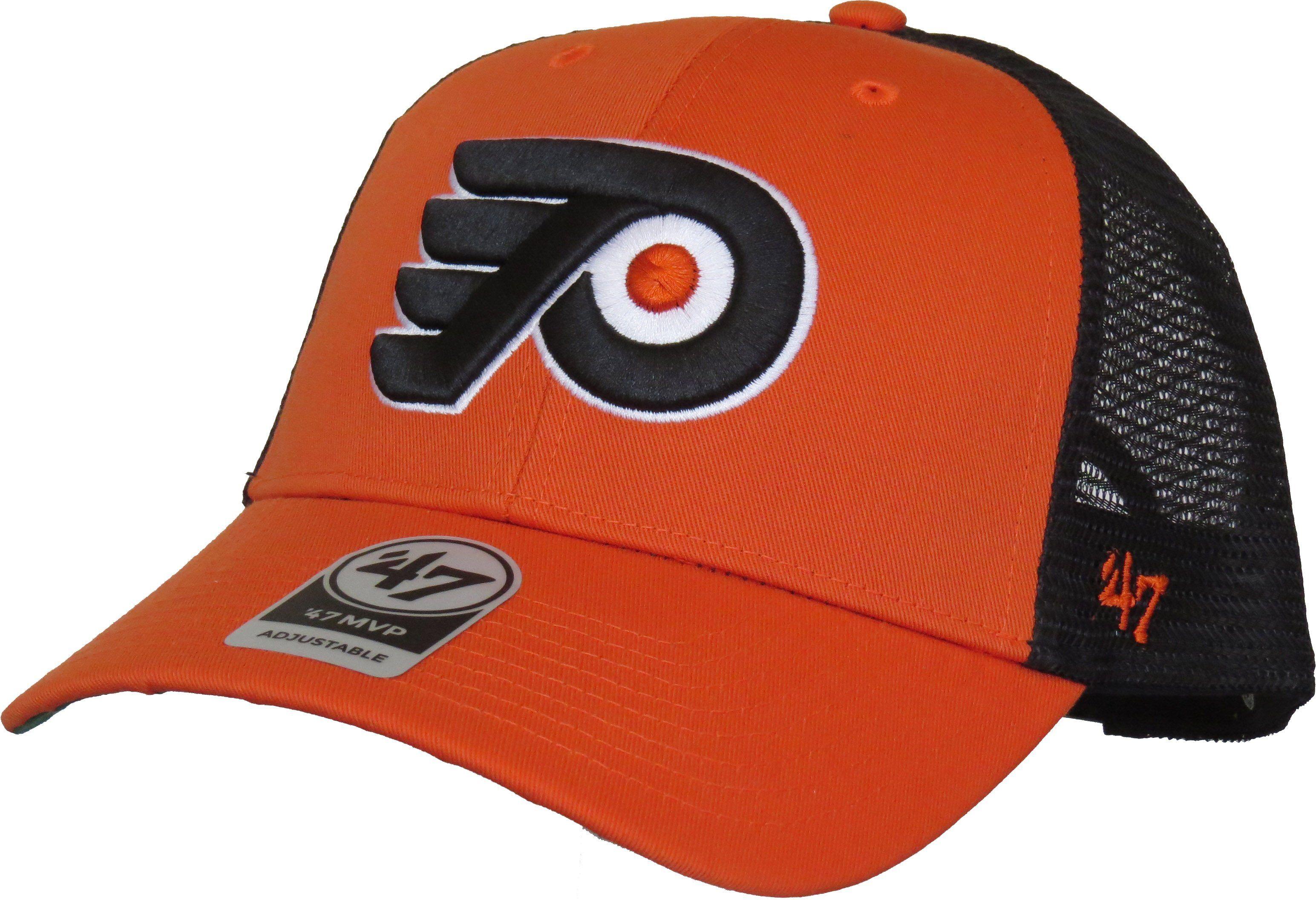 d609b0c3f2e Philadelphia Flyers 47 Brand Branson MVP NHL Trucker Cap – lovemycap ...