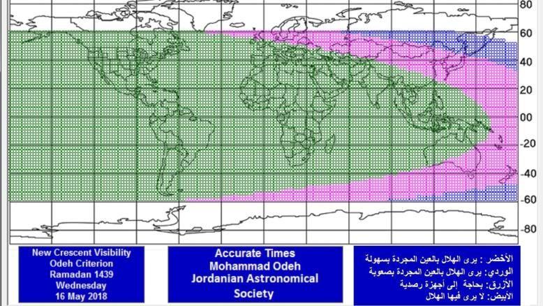 هلال رمضان متى يثبت فلكيا Ramadan Jordanian Libya