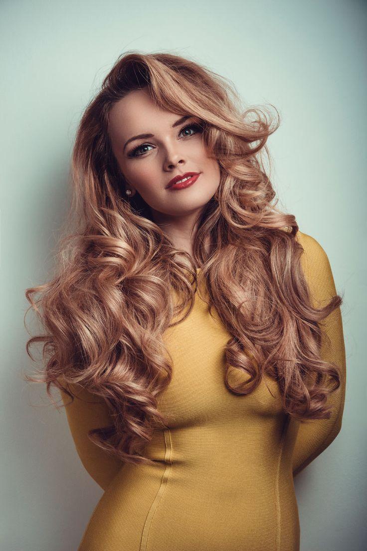 Dunkle Strawberry Blonde Haarfarbe | Bella hair in 2019 ...