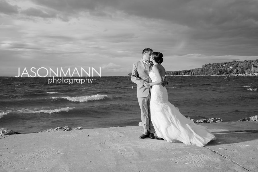 Door County Wedding by the Bay of Green Bay.    Jason Mann Photography http://www.jmannphoto.com