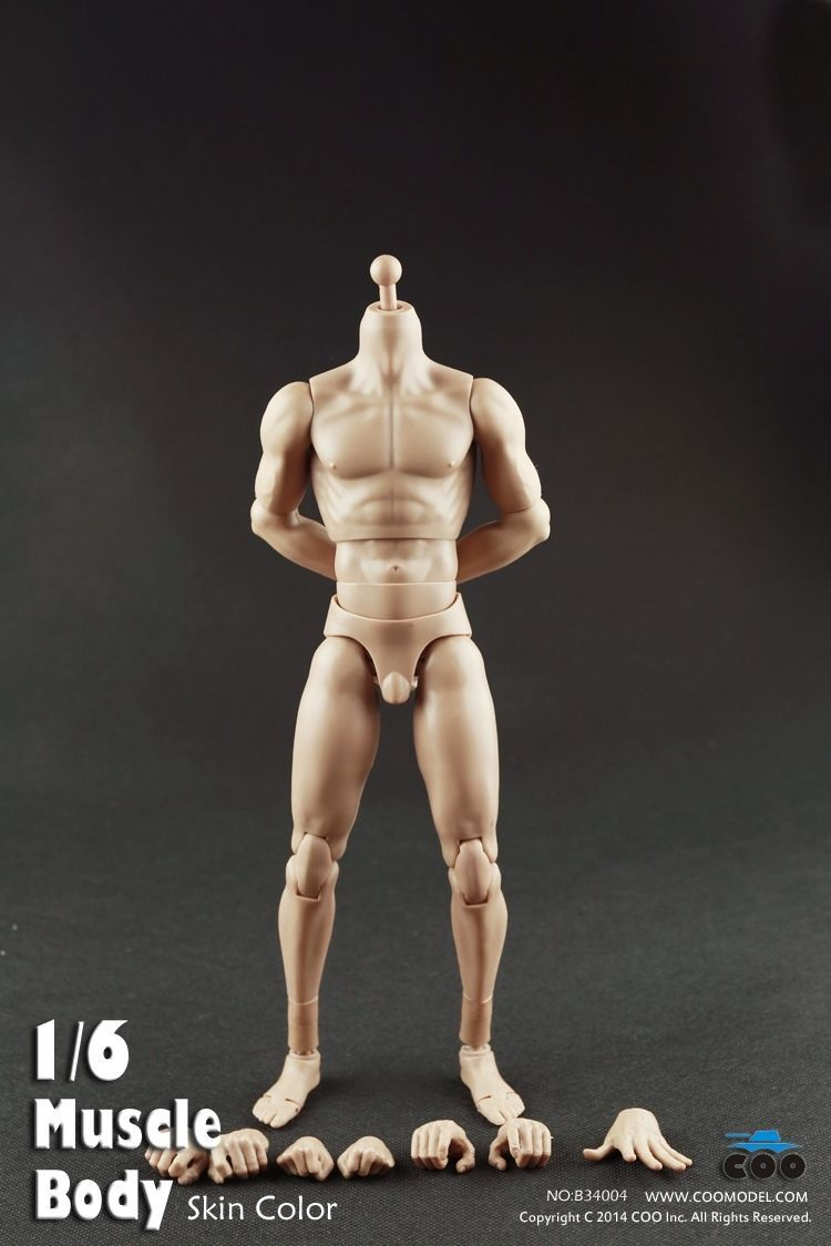 action figures man nude