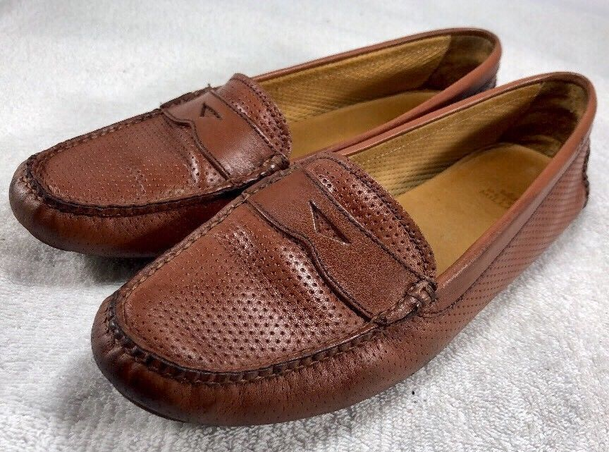 6a2d5ef591a Women s Peter Millar Driving Moccasins Flat Penny Loafers Shoes Size ...