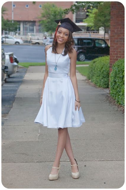 e6ad1ed4f3d Simplicity 1099 - Made in white stretch satin for a great Graduation dress  option! Erica B s DIY Style!
