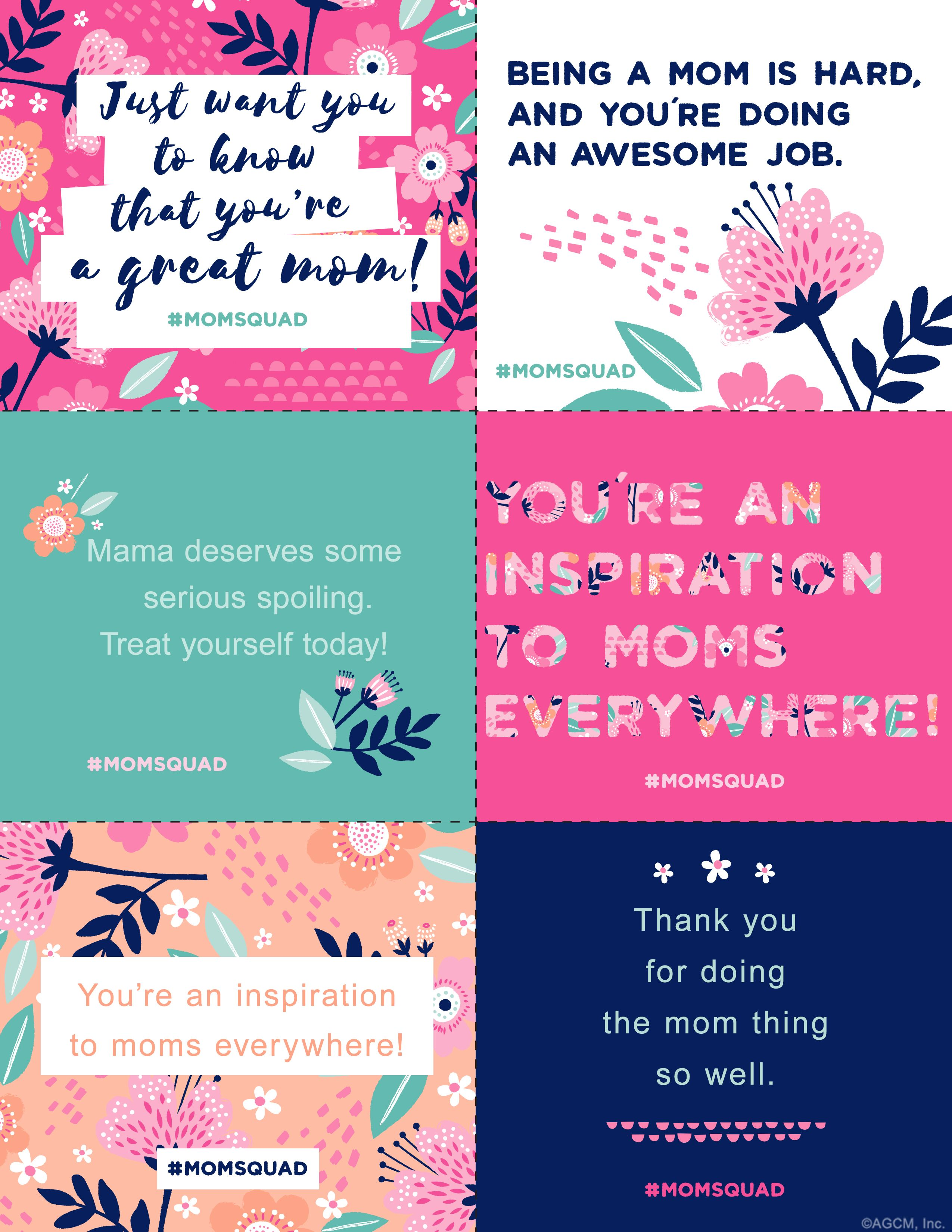 Printable Mother's Day Notes Mother card, Mothers day