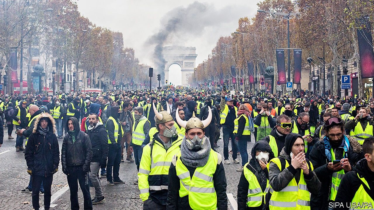 Paris Is Burning Yoan Valat Epa Michael Mehling University Of Strathclyde The Gilets Jaunes Movement By Its Own Description Is Motivated By Broad Discontent