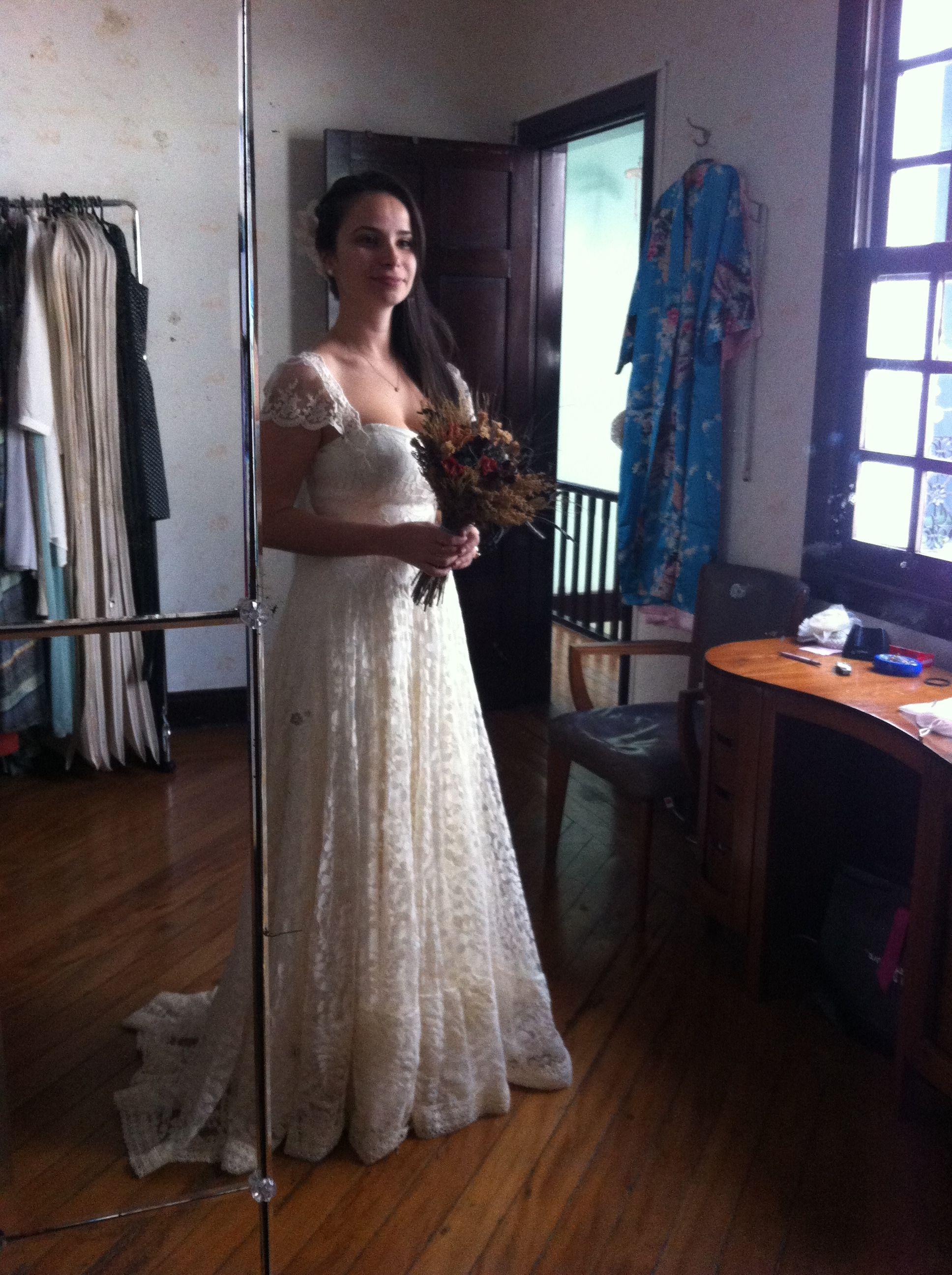 Last Wedding Dress Fitting 3 Customised JULIE LONDON Wedding
