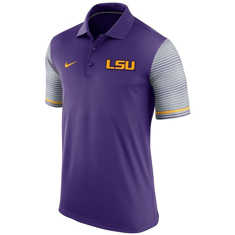 85e32ba551 Men s Nike LSU Tigers Early Season Polo