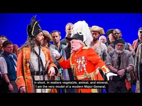 I Am The Very Model Of A Modern Major General Is A Patter Song From Gilbert And Sullivan S 1879 Comic Opera The Pirates Of Penzance Major General Songs Gilbert