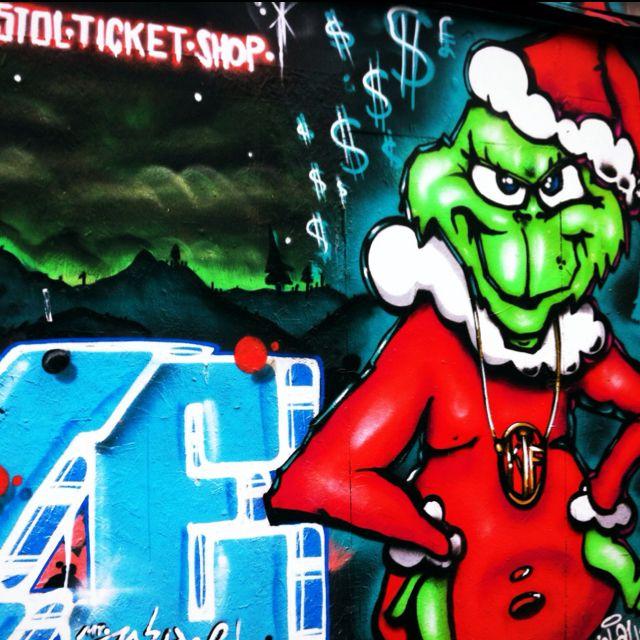 Street Art - Stoke Croft - Bristol