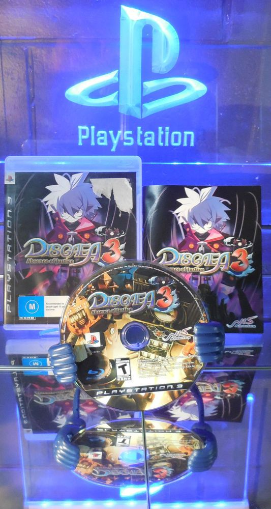 Disgaea 3 Absence of Justice (Sony PlayStation 3, 2009