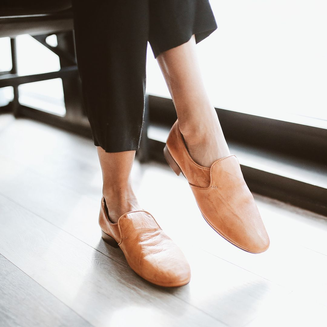 Introducing The Ashley Slip On The Perfect Everyday Shoe Crafted In Our Signature Soft Vintage Leathe Quality Leather Boots Frye Leather Boots Everyday Shoes