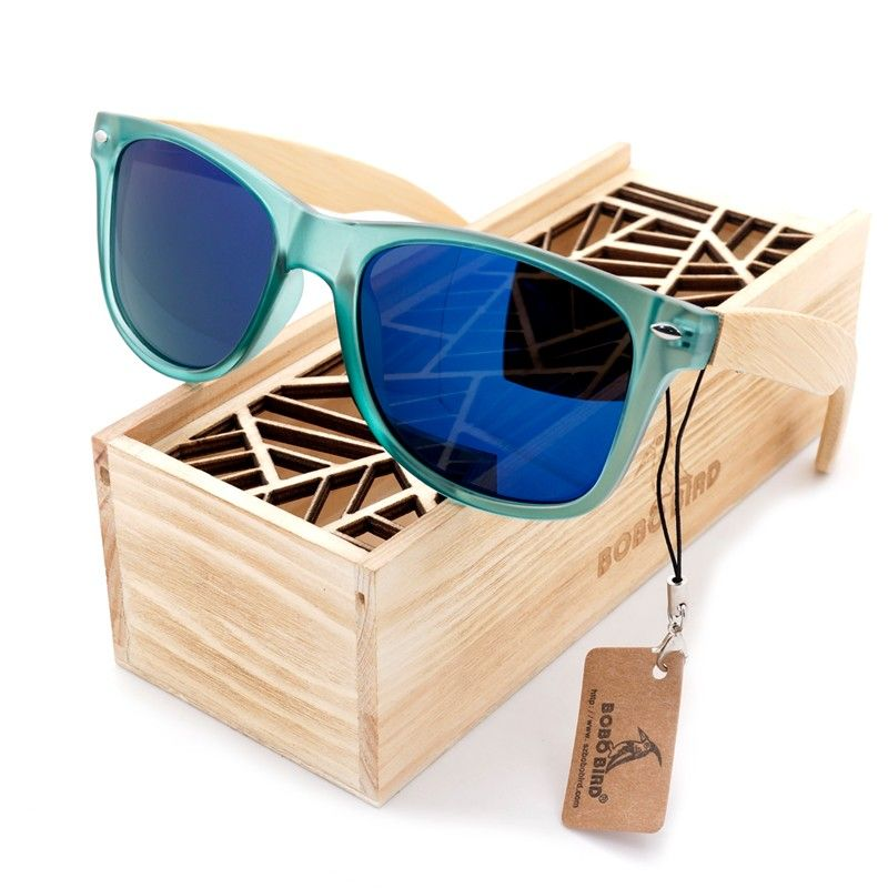 e81a26cbe7a BOBO BIRD Luxury Polarized Sunglasses for Men and Women Bamboo Wood Holder Sun  Glasses With Retail Wood Box 2017 Oculos