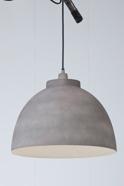 Hanglamp Kylie cement finish €69,-