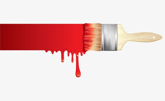 Red Paint Brush Vector Paint Red Brush Png Transparent Clipart Image And Psd File For Free Download Red Paint Paint Brushes Painting