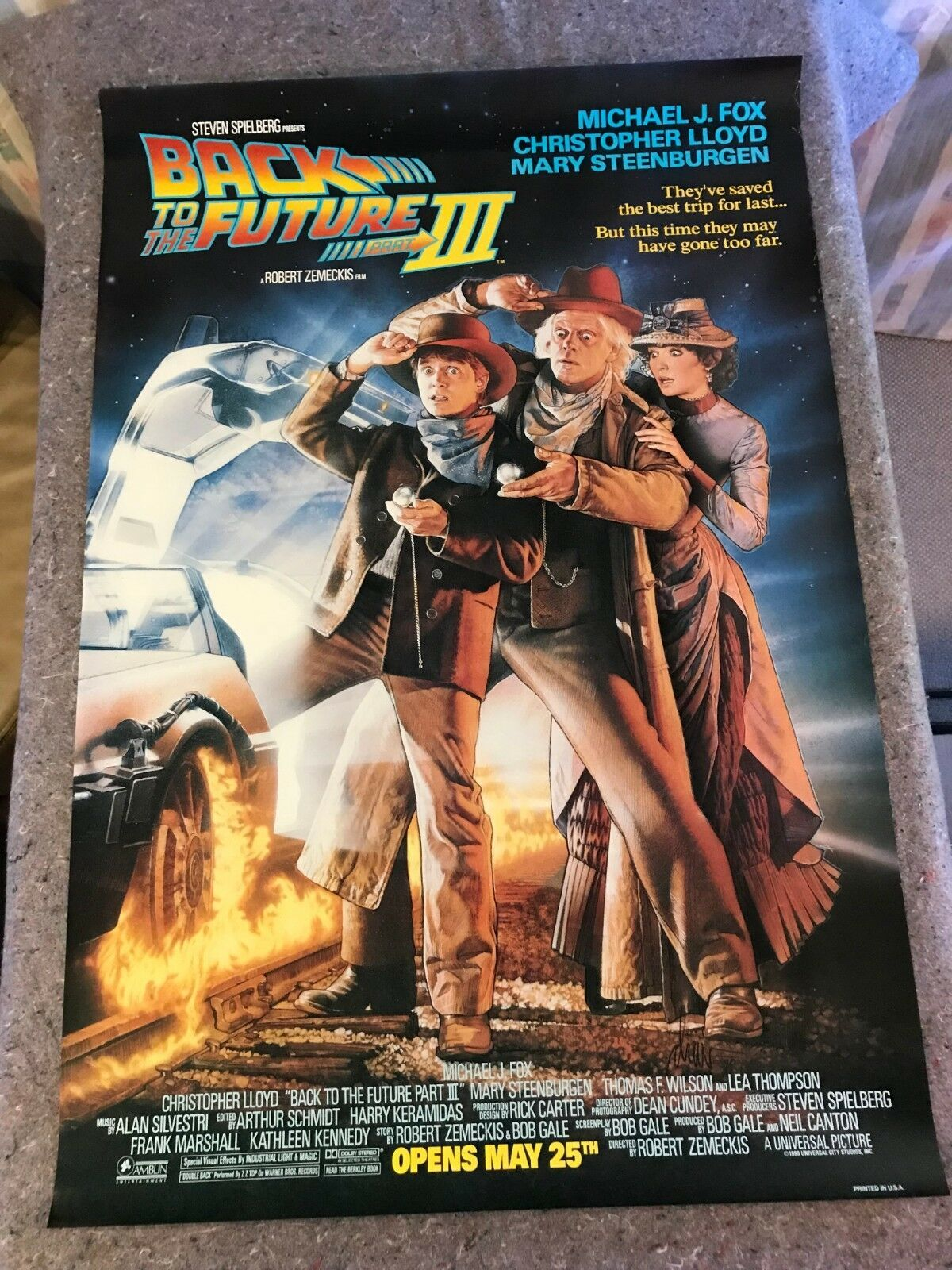 Bttf Iii Poster Home Decor Ideas In 2019 Back To The