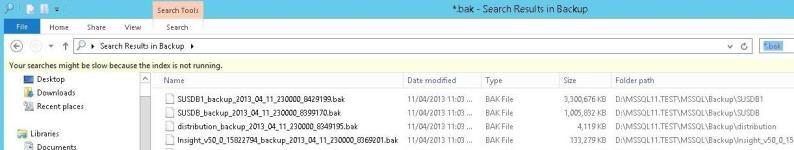 SQL Server Backup Paths and File Management | MSSQLTips Tip