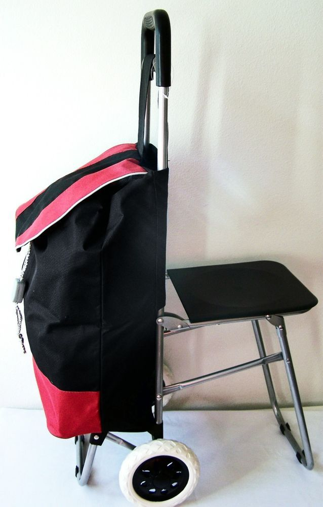 Swell Trolley Bag Folding Chair Seat Travel Shopping Fishing Pdpeps Interior Chair Design Pdpepsorg